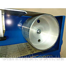 Ленточно-шлифовальный станок по металлу Metallkraft MBSM 150-200-2, фото 3