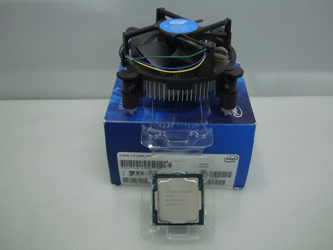 Процессор Celeron G3930 2.9GHz/8GT/s/2MB socket1151/Kaby Lake
