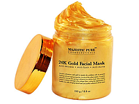 Маска 24 к золото.  Majestic Pure Gold Facial Mask.   250 грамм