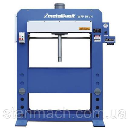 Гидравлический пресс Metallkraft WPP 50 VH, фото 2