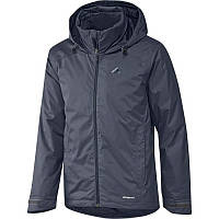 Куртка спортивная мужская adidas Ht Wt Padded J AA1950 (темно-синяя, демисезонная, синтепон, логотип адидас)