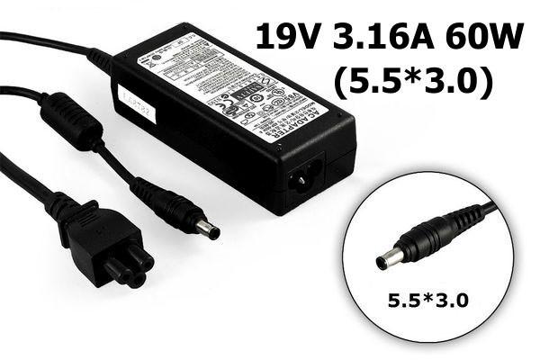 Блок питания SAMSUNG 19V 3.16A 60W 5.5x3.0mm