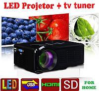 Проектор LED SMT-4 1000lm + 3d+TV tuner