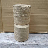 Шпагат джутовый фасованный 800 гр/3-х ниточный, фото 4