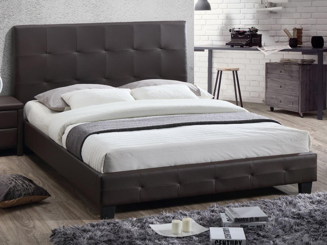 Кровать Хьюстон 1600*2000, шоколад