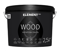 ELEMENT PRO WOODSTAIN, 2,5 л МАХАГОН Аква-антисептик для дерева