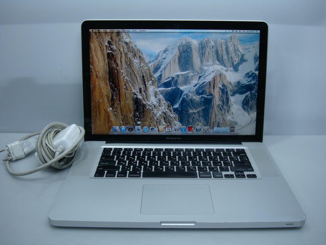 "Ноутбук MacBook Pro 15"" 2009 (GeForce 9600M, SSD 240Gb)"