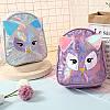 Детский голограммный рюкзак Сова, фото 2