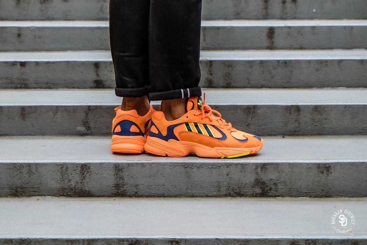 2d129f68d8d8 Кроссовки Adidas Yung-1 (Hi-Res Orange   Hi-Res Orange   Shock ...