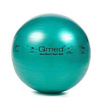 Фитбол - Qmed ABS Gym Ball 65 см. Гимнастический мяч для фитнеса. Зеленый
