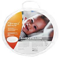 Qmed Baby Pillow - Ортопедическая подушка для новорожденных
