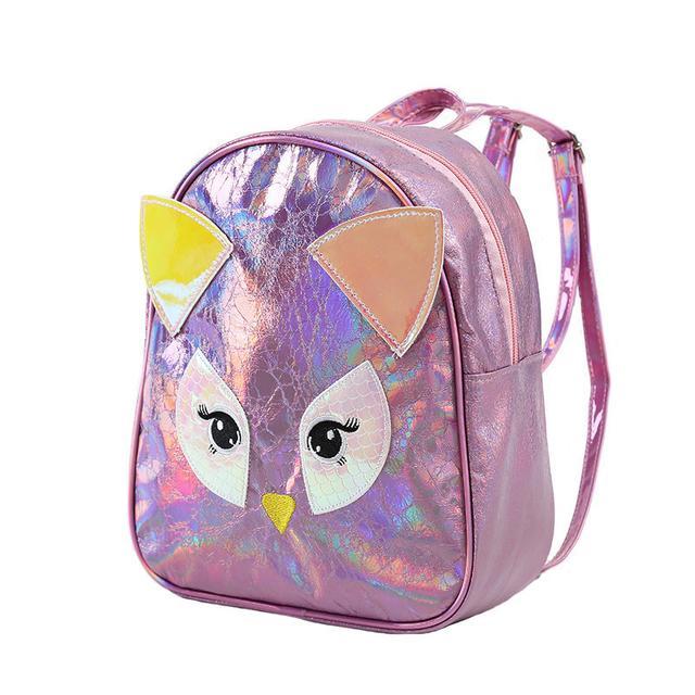 Детский голограммный рюкзак Сова