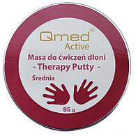 Qmed Therapy Putty Medium - Пластичная масса для реабилитации ладони, средняя, фото 1