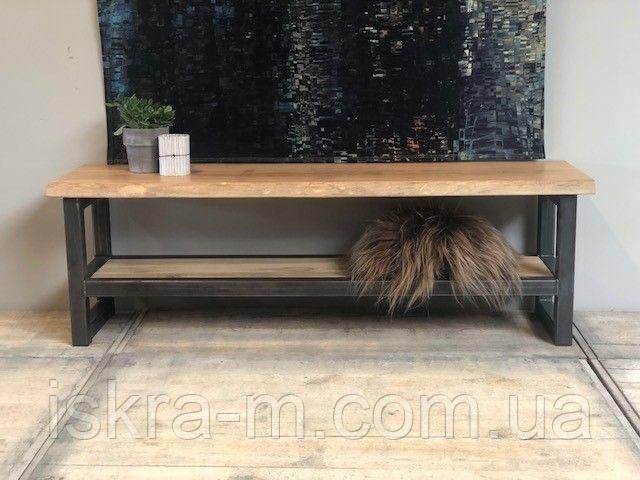 Стол-тумба под телевизор в стиле лофт