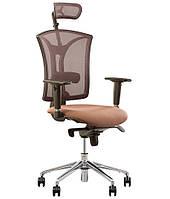Кресло для персонала PILOT R HR net TS AL32 c «Синхромеханизмом»