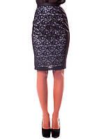 Шикарная женская юбка с кружевом (S-XL в расцветках)