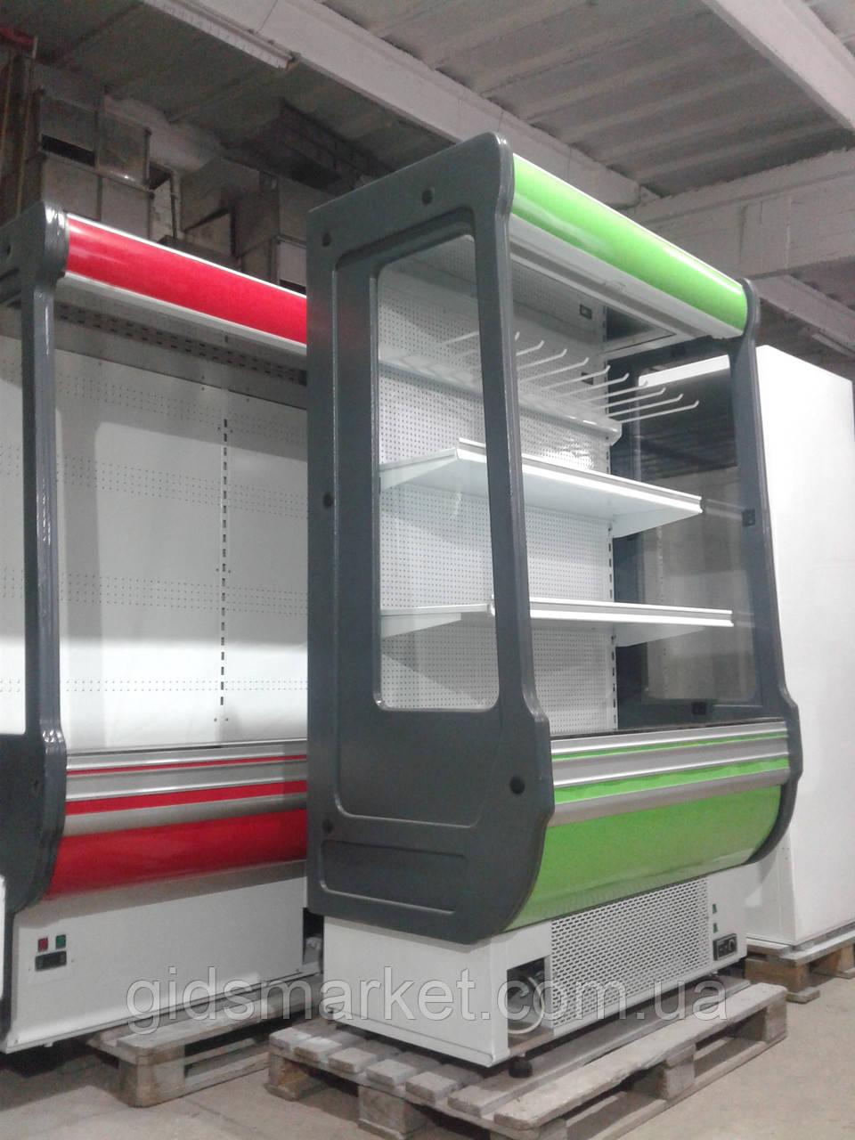 Холодильная горка Cold 1.25 м. б у, холодильный регал б/у, горка холодильная б у