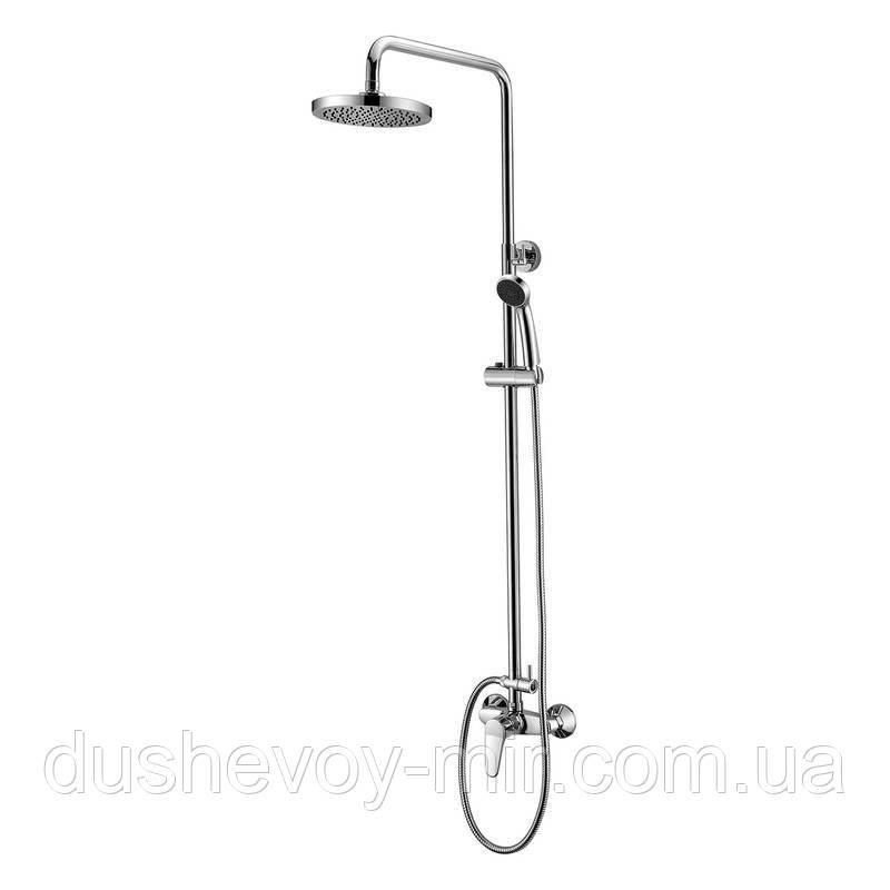WITOW душевая система (смеситель для душа, верхний и ручной душ) T-15080