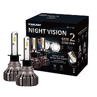 Светодиодные автолампы H1 Carlamp Led Night Vision Gen2 5000 Lm 5500 K (NVGH1)