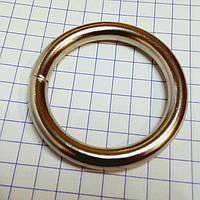 Кольцо сварное 4*25 мм никель, фото 1