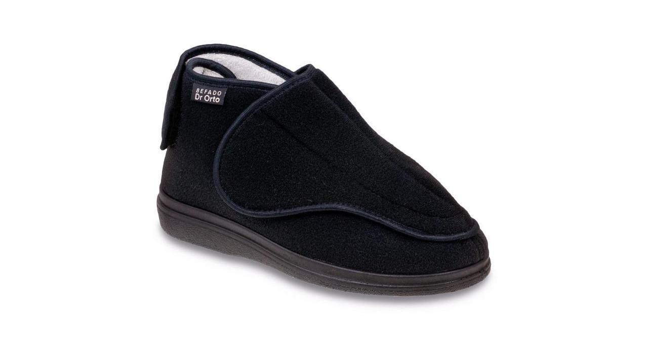 Ботинки диабетические, для проблемных ног мужские DrOrto 163 M 002 Ботинки, Липучка, 44, Диабетическая, При синдроме диабетической стопы