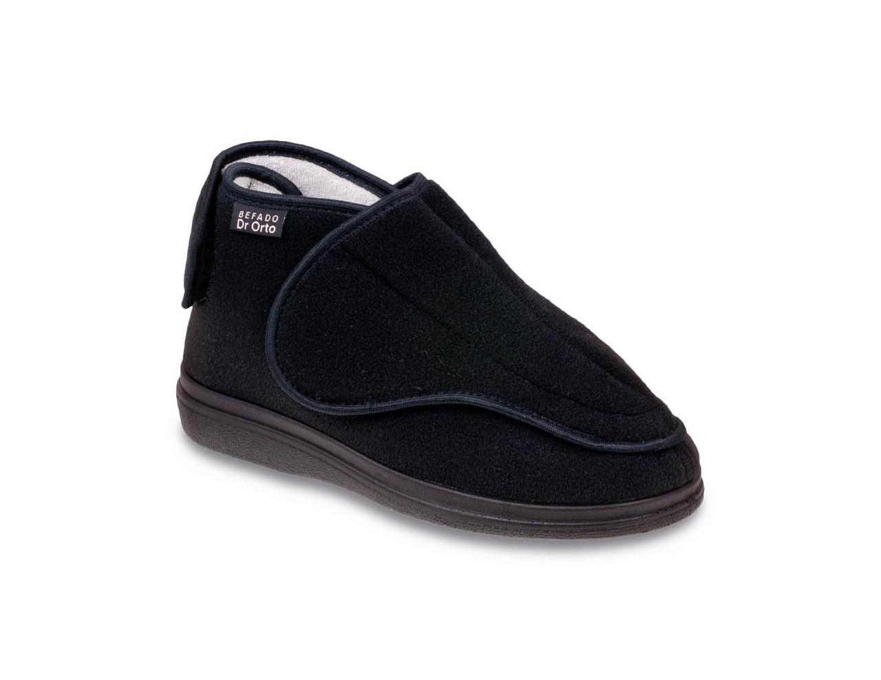 Ботинки диабетические, для проблемных ног женские DrOrto 163 D 002 Ботинки, Липучка, 37, Диабетическая, При синдроме диабетической стопы