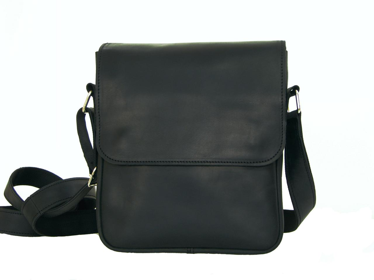 5095c0f795db Кожаная мужская повседневная сумка черного цвета : продажа, цена в ...