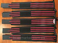 Кистевые бинты Inzer IronZ (красные), фото 1