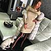 Очаровательное платье мерцающий люрексовый трикотаж гафре.  Размер: 42-46 . Цвета разные (5362), фото 4