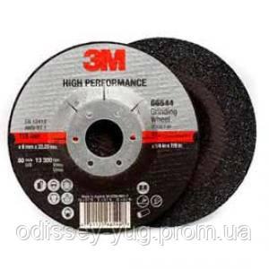 Круг зачистной 3М Hi Performance T27 (125 мм х 7.0 мм х 22 мм).65504