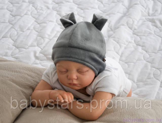 Шапочка для новорожденного ребенка