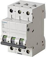 Автоматический выключатель Siemens 3-полюсный, 10A, тип C, 6kA (5SL6310-7)