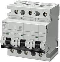 Автоматический выключатель Siemens 3-полюсный, 80A, тип C, 6kA (5SP4380-7)
