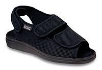 Сандалии диабетические, для проблемных ног мужские DrOrto 733 M 007 Сандалии, Липучка, 47, Лето, Диабетическая, При синдроме диабетической стопы