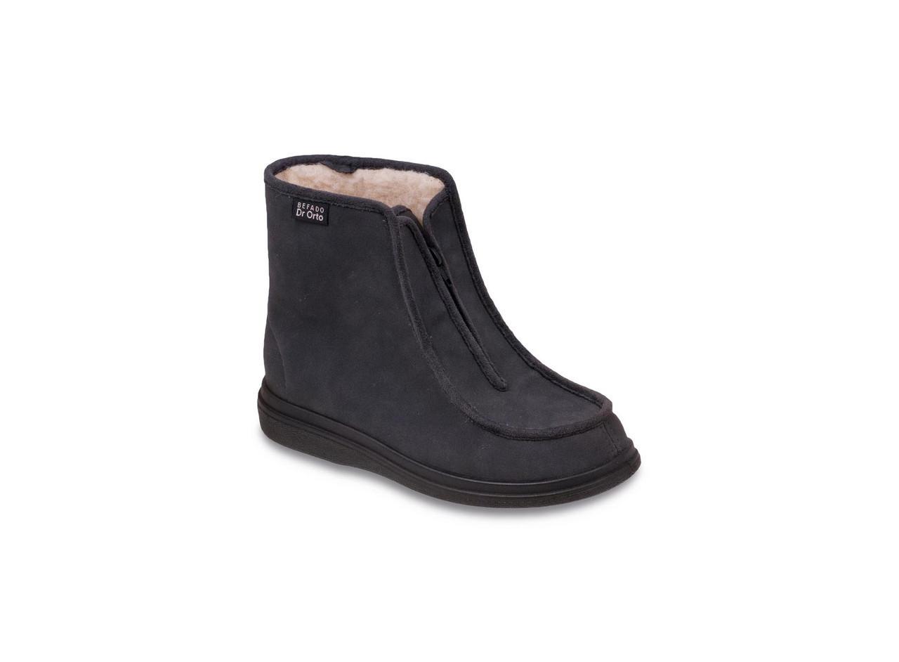 Зимние ботинки диабетические, для проблемных ног мужские DrOrto 996 M 008 Ботинки, Молния, 48, Зима, Диабетическая, При синдроме диабетической стопы