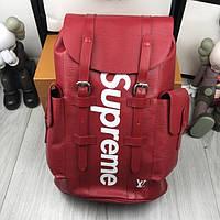 Рюкзак Louis Vuitton x Supreme Christopher Backpack Red, реплика ... c10bcb80f3f
