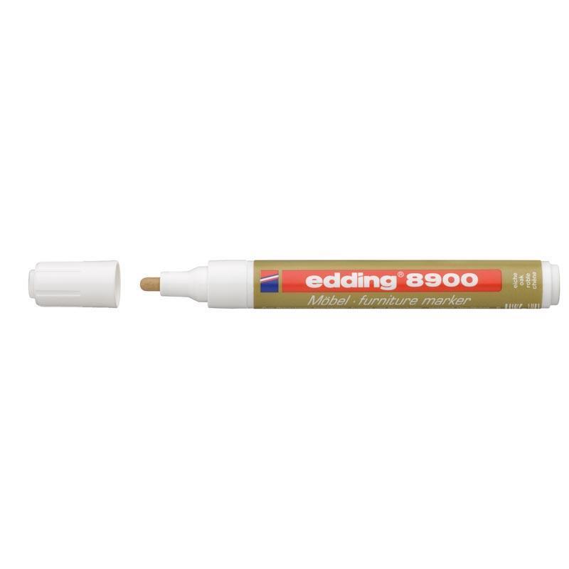 Маркер edding, цвет светлый дуб  для ретуши царапин на деревянных поверхностях