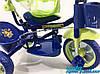 """Детский трехколесный велосипед Baby Club """"King Story"""" GREEN, фото 6"""