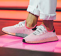 a1b16f2ea Кроссовки adidas Deerupt Runner W (Chalk Pink   Chalk Pink   Bold Orange)