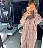 """Платье """"NICE"""", двойная вязка шерсть 50% хлопок 30% вискоза 20%.  Размер: 42-46 . Цвета разные (5364), фото 3"""