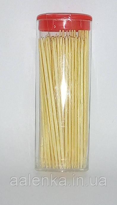 Зубочистки бамбуковые в тубусе