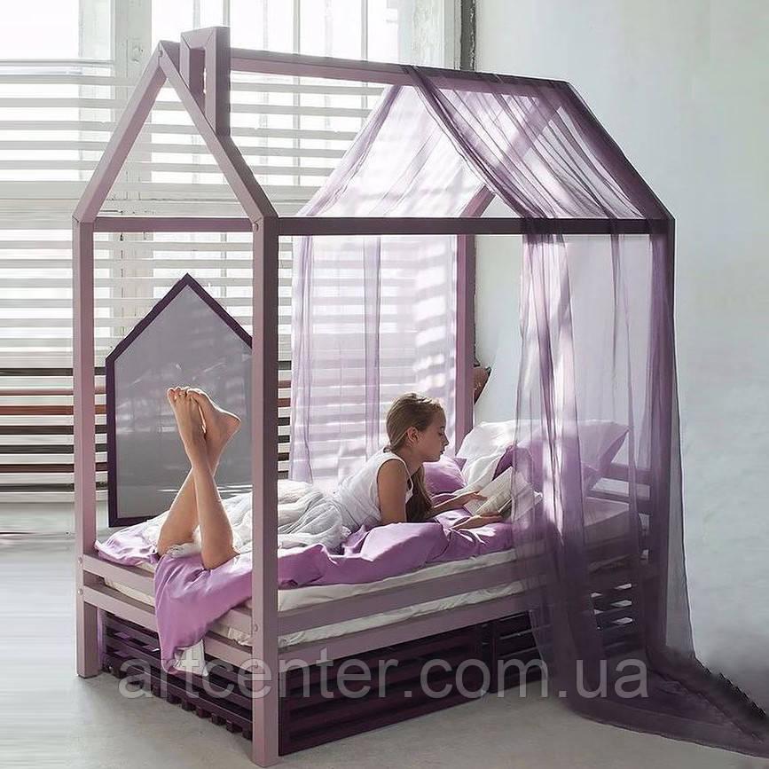Кроватка-домик для подростка, на ножках