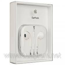 Наушники Apple EarPods with Remote and Mic (MD827ZM/A).