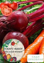 Смарт-набор овощей 'Красная грядка' 'Богатый фермер' (в коробке) ТМ 'Весна' 15уп