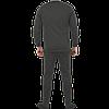 Утепленное нижнее белье мужское, цвет антрацит, фото 4