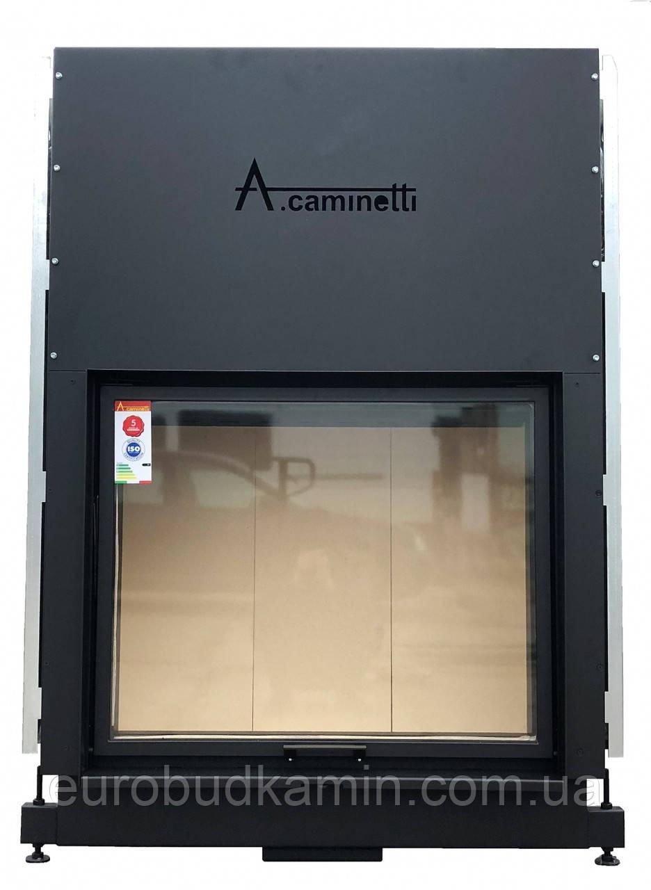 Каминная топка A.Caminetti FLAT 90x74(New)