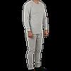 Утепленное нижнее белье мужское, цвет серый, фото 3
