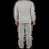 Утепленное нижнее белье мужское, цвет серый, фото 4