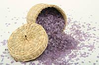 Соль мертвого моря с ароматом Лаванды  50 гр / 1 кг