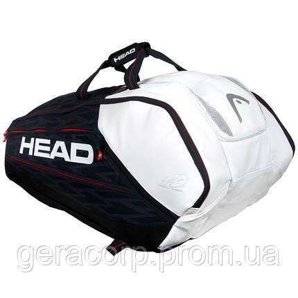 Чехол Head Djokovic 12R Monstercombi bk/white 2018 year , фото 2